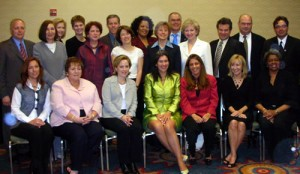 Dr. Roberta Pileggi with other ADEA Leadership Institute Program participants