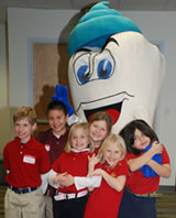 Mighty Molar with local students