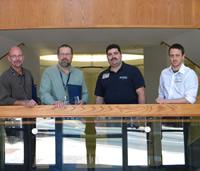From left: Steve Kostewicz, Lamar Brooks, Charles Lesch and Justus Weber.