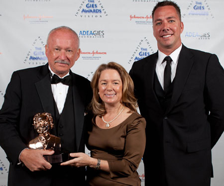 NCEF trustee John Scot Mueller, Teresa Dolan, D.D.S., M.P.H., professor and dean at University of Florida College of Dentistry and NCEF acting Executive Director Todd Foege, MBA.